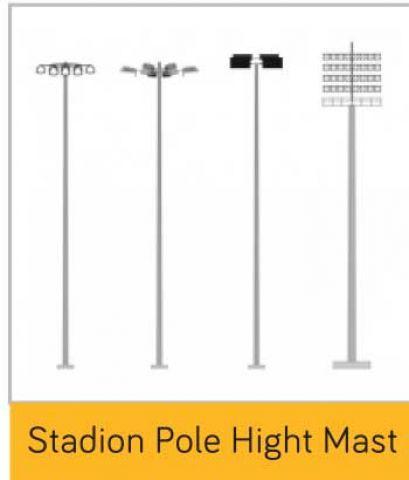 Stadion Pole High Mast