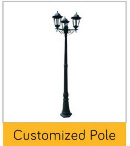 Customized Pole